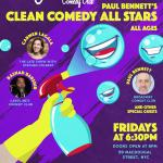 Paul Bennet's Clean Comedy All Stars