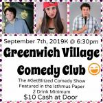 The Get Blitzed Comedy Show