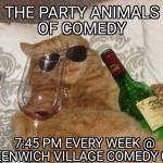 The Party Animals of Comedy