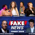 The Fake News Show with Rinovska and Steve-Wouldn't the news be better if it was funny and a drinking game?